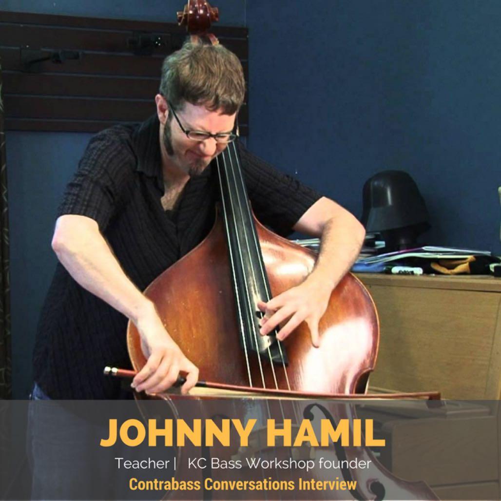Johnny Hamil double bass