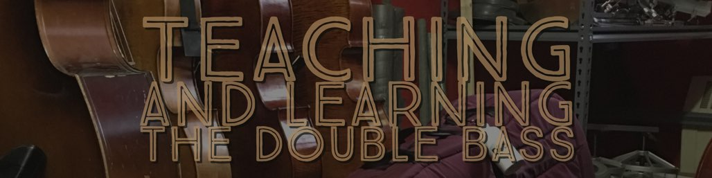 teaching learning double bass