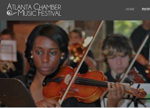Atlanta Chamber Music Festival @ Agnes Scott College