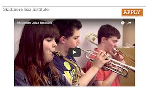 Skidmore Jazz Institute @ Skidmore College