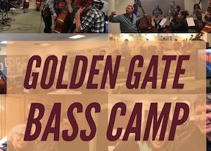 Golden Gate Bass Camp @ Drew School
